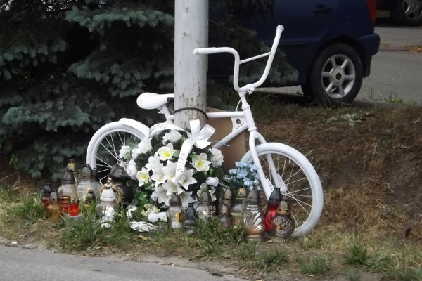 Bicykel duchov pod Zoborom.