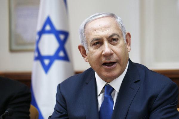 Netanjahu chce po Trumpovi nazvať osadu na Golanských výšinách