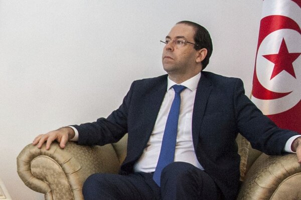 Tuniský premiér Júsuf Šáhid.