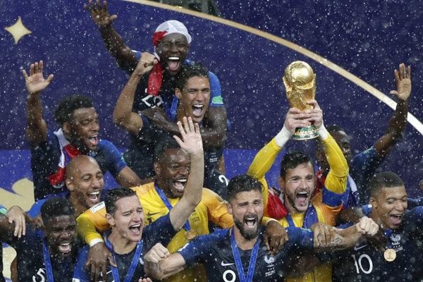 Francúzi sa stali majstrami sveta vo futbale po druhýkrát