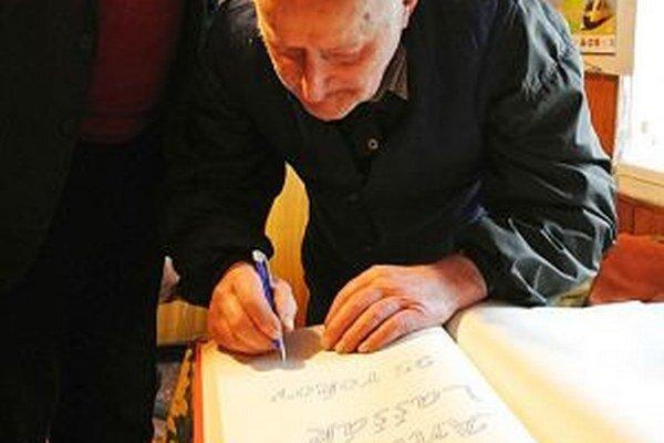 Najstarší Zákamennčan Anton Laššák má 95 rokov.