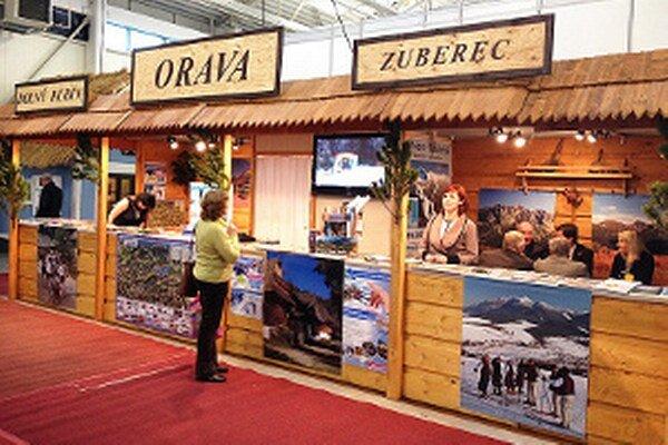 Orava sa predstavila na veľtrhu cestovného ruchu v Bratislave.