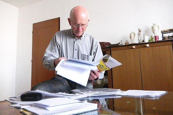 Igor Pajta rád číta noviny o ekonomike, hospodárstve, ale aj regionálnu tlač.