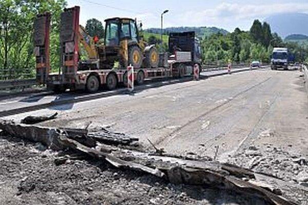 Jeden zo štyroch mostov, ktoré počas rekonštrukcie opravia.