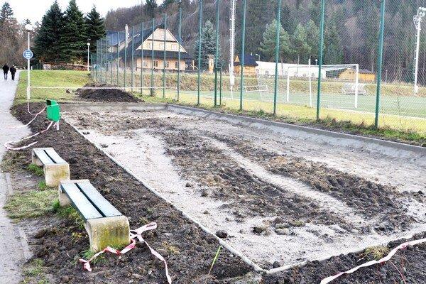 Budúce workout ihrisko bude mať deväť stanovísk.