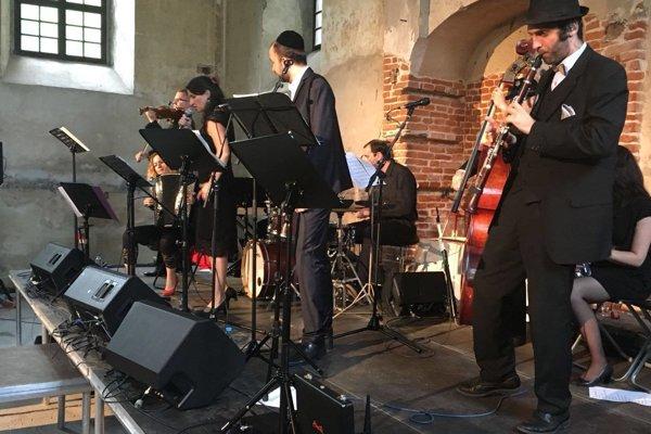 Pressburger Klezmer Band na koncerte.