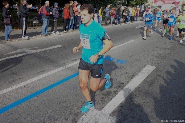 František Rišian (vpredu) si tiež vylepšil osobný rekord.
