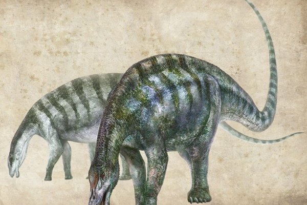 Umelecké zobrazenie novoobjaveného dinosaura, ktorý dostal meno lingwulong shenqi, čo v preklade znamená ohromný drak z Ling-wu.