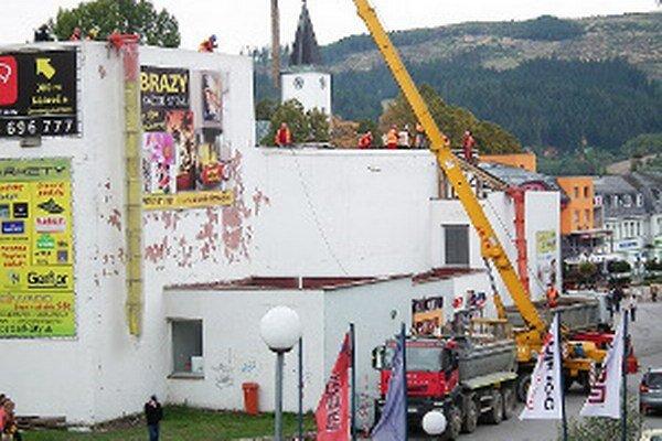 Mesto tento rok konečne opravilo strechu na Dome kultúry.