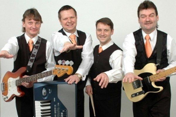 Zľava Marián Strapec, Gusto Chomistek, Jozef Foltín a Ján Čilík.