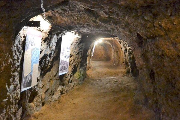 Bunker pod Fiľakovským hradom.
