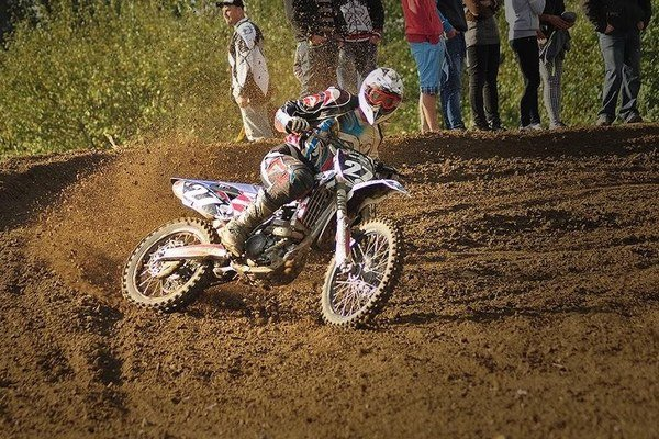 Mário Balcierák začal jazdiť na motorke ako pätnásťročný.