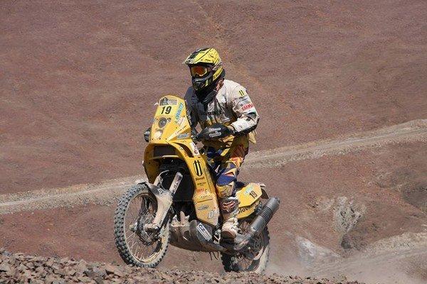 Štefan Svitko dokončil tretíkrát Rely Dakar.