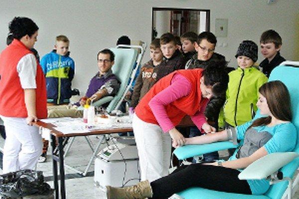 Darovanie krvi v najväčšej oravskej obci.