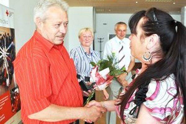 Ján Oravec získal medailu Jána Kňazovického za stonásobné bezplatné darovanie krvi.