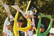 Víťazi jednotlivých kategórií na Tour de France 2018.