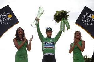 Peter Sagan šiestykrát ovládol bodovaciu súťaž.