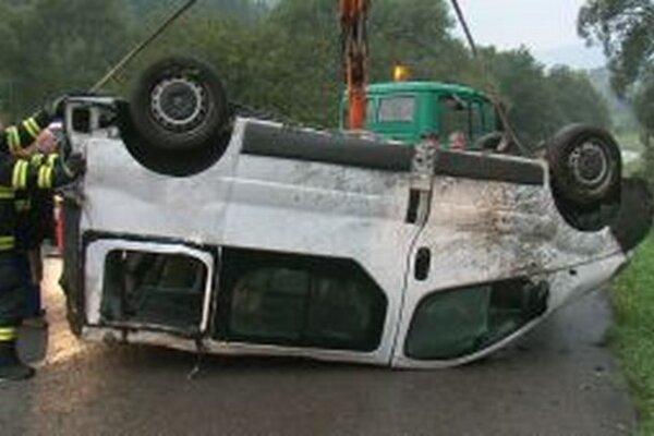Nehoda pri Párnici.