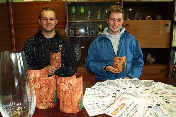 Chlapci si z Čiech priniesli množstvo ocenení.