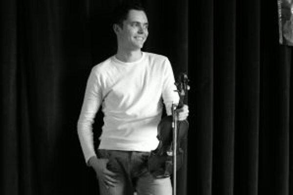 Daniel Turčina patrí medzi najlepších slovenských huslistov.
