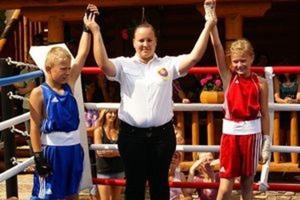 Jessica Triebeľová boxovala s bratom Alexom.