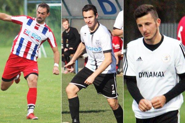 Stopér Miroslav Raček vymenil Báb za Patu, ale zostáva v piatej lige Stred. Skúsený Martin Dudáš je na Lapáši. Lukáš Trnka ide z Alekšiniec k nováčikovi do Rumanovej.