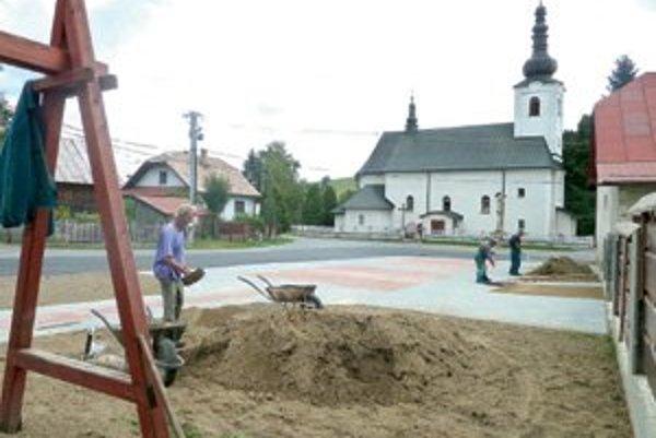 Stavebné práce, naplánované na tento rok, sú pred koncom.