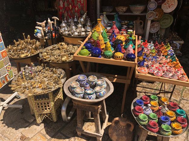 Tradičné trhy v Maroku