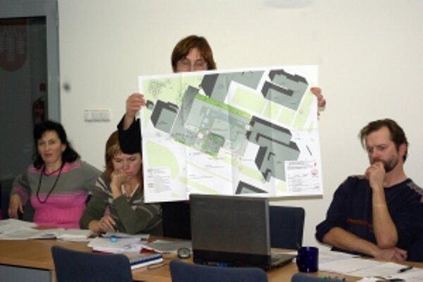 Architekti prezentovali zámer aj požiadavku na nájom plôch v komisii výstavby.