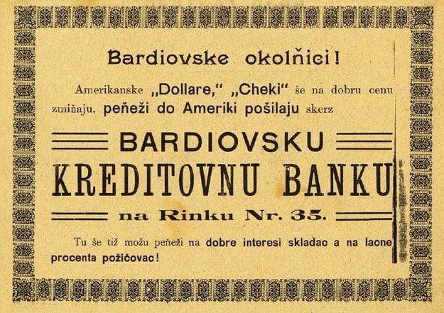 Dobová fotografia zo série: Bardejovské firmy a firmičky.