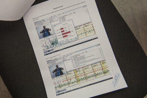 Výsledky z výsluchu na detektore lži.