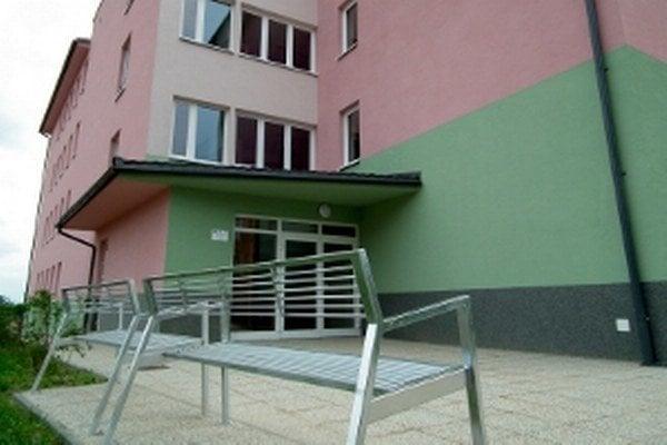 Domov pre seniorov na Bernolákovej ulici.
