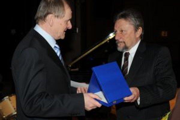 Bývalý dolnokubínsky primátor Ivan Budiak (vpravo).
