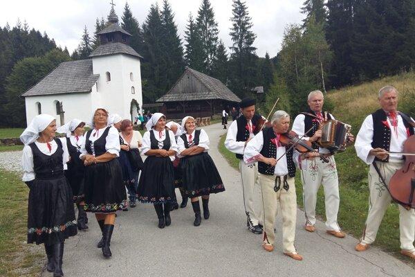 Ponúknu čaro folklóru Bystrickej doliny.