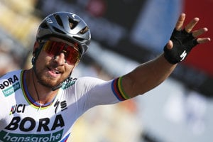 Peter Sagan má za sebou skvelú Tour de France. Teraz zabojuje o titul na majstrovstvách Európy.