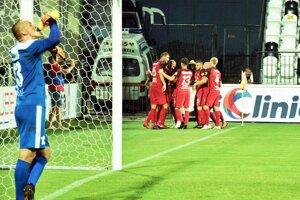 Futbalisti Serede si v Myjave pripísali druhé domáce víťazstvo.