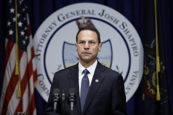 Pensylvánsky generálny prokurátor Josh Shapiro.