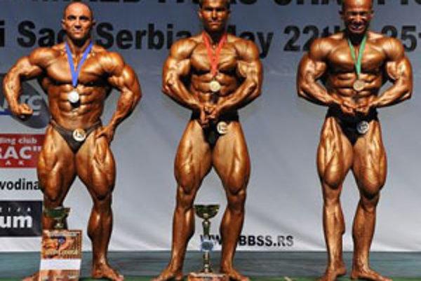 ME Nový Sad, máj 2009: Vugar Verdyev (2.), Peter Tatarka (1.), Antonio Furic (3.).