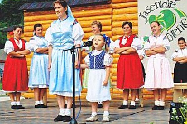 Vystúpenie Jaseničanov na prvom ročníku podujatia.