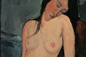 Amedeo Modigliani: Nahá žena, 1916.
