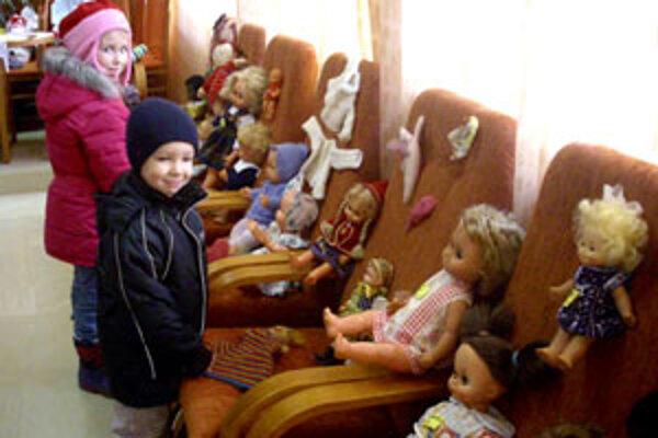 Deti priťahovali najmä staré hračky.