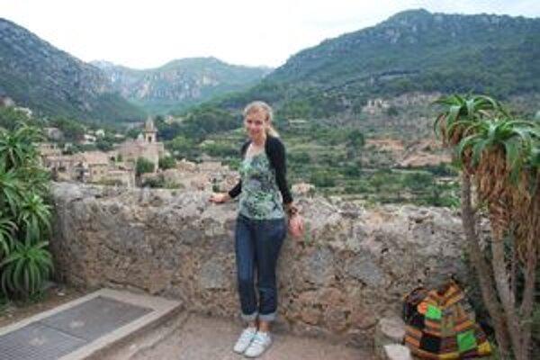 Mirka na potulkách po ostrove navštívila aj historickú dedinku Valldemossa.