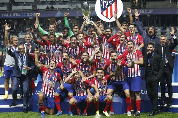 Hráči Atlética Madrid získali Európsky superpohár.