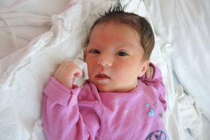 Linda Kulichová (3670 g, 53 cm) sa narodil 7. augusta Monike a Milanovi z Košece. Doma už majú dcérku Ninku.