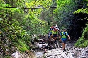 Zásah Horskej záchrannej služby pod Misovými vodopádmi.