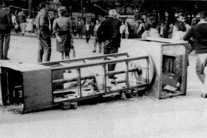 Bratislava, august 1968.