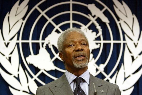 Kofi Annan patril medzi aktívnych generálnych tajomníkov OSN.