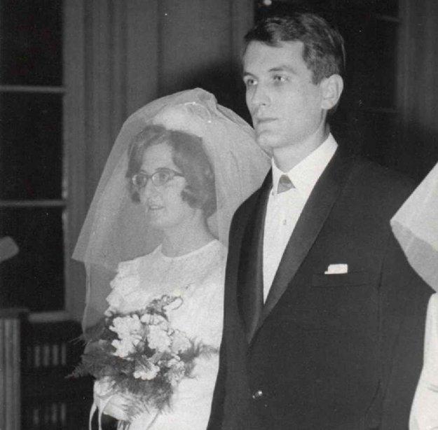 Svadobná fotografia, 1967.