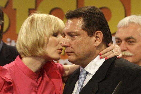 Manželia Paroubkovci medzi sebou vedú súdne spory.