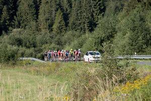 Vlaňajší pelotón Cyklojazdy histórie